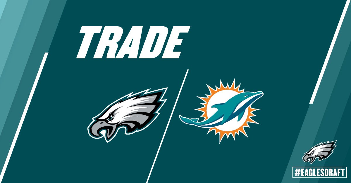 #Eagles have traded picks 164 and 194 to Miami for picks 166 and 184. https://t.co/EXdywYtxjV