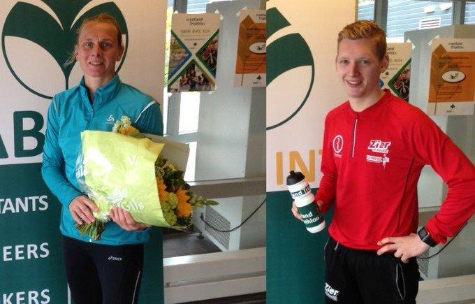 Maarten Bakker en Marianne Goijert winnen 'Eerste Westlandse Zwemloop' https://t.co/MxDxmpHd0z https://t.co/sV1kwOqiZ3