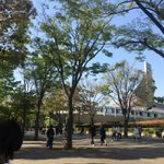 NHKホール周辺見覚えある景色だなぁと思ったらバケモノの子で出てたんだね!