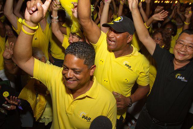 Bevolking Curaçao kiest tegen corruptie en voor de 'Curaçaose Kennedy'