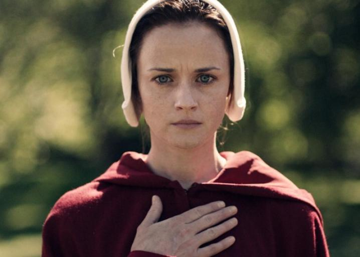 Alexis Bledel as Ofglen in The Handmaid's Tale is the role she was born to play: