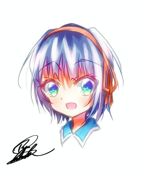 友達とさぎょいぷもどきしながら描いたクロムクロの由希奈ちゃんをば