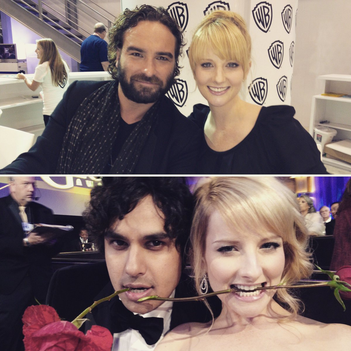 Wishing the very happiest of birthdays to these two fine gentlemen @kunalnayyar & #JohnnyGalecki Love you guys!!! ❤️ https://t.co/Zw6RqIQune