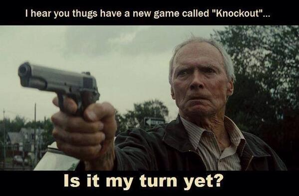 MT @Angelemichelle: I HEAR YOU THUGS GOT A NEW GAME CALLED KNOCKOUT? IS IT MY TURN YET???  #2ADefenders https://t.co/5IV5OImvaB #2A #PJNET