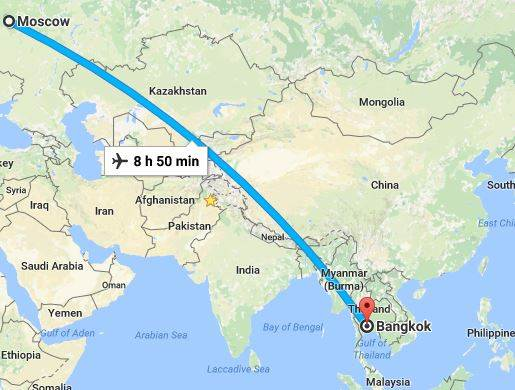 "Aeroflot Boeing 777 hits ""clear air"" turbulence near Bangkok leaving 25 hurt"