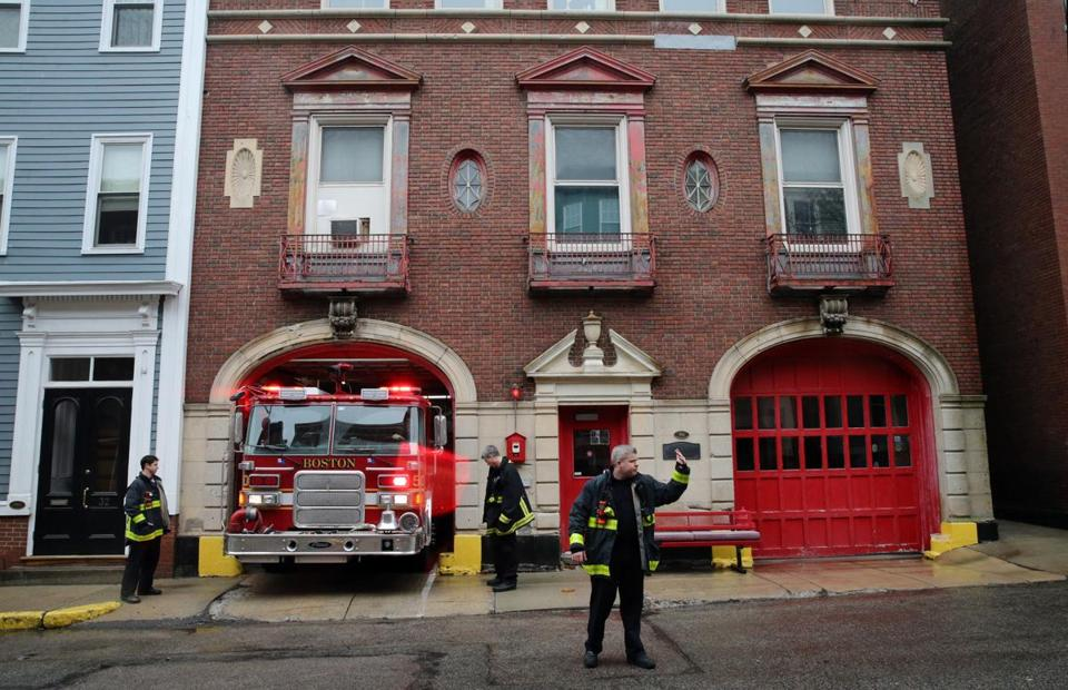 A 99 Year Old Charlestown Fire Station Thats Potential Health Hazard Is Getting