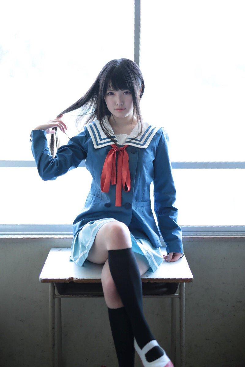 【コスプレ】境界の彼方 名瀬美月 わかった、って答えると思う?photo→kuroさん( )#くらて学園 #名瀬美月 #