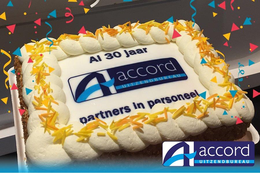 test Twitter Media - Accord bestaat 30 jaar en daar zijn wij trots op! #accord #feest #mijlpaal https://t.co/8WBPSlSeMm