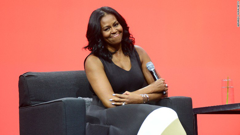 """The Trump administration is ending Michelle Obama's """"Let Girls Learn"""" education program"""