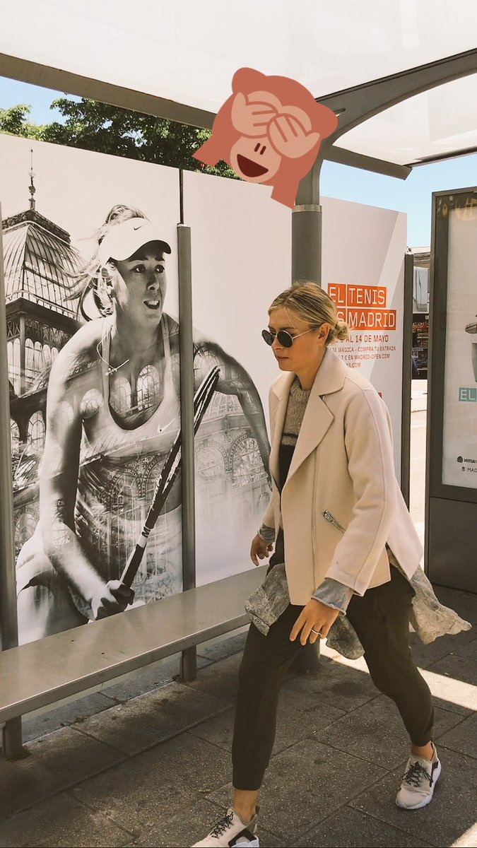 When the @MutuaMadridOpen tournament poster gives you a good push up bra... ???????????? https://t.co/QbonpMgsBG