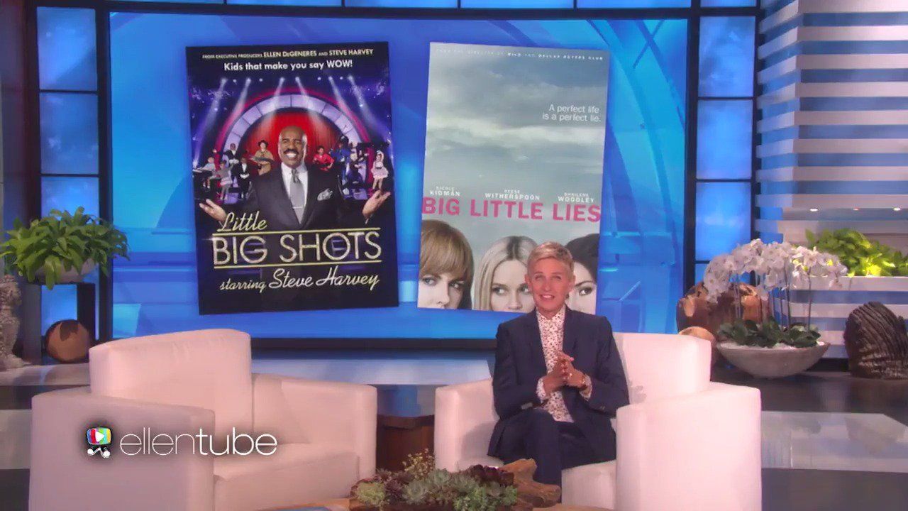 What do you get when you combine #LittleBigShots and #BigLittleLies? @IAmSteveHarvey https://t.co/25vbr8DpJb
