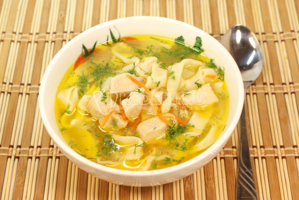 Куриный суп рецепт с пошагово классический