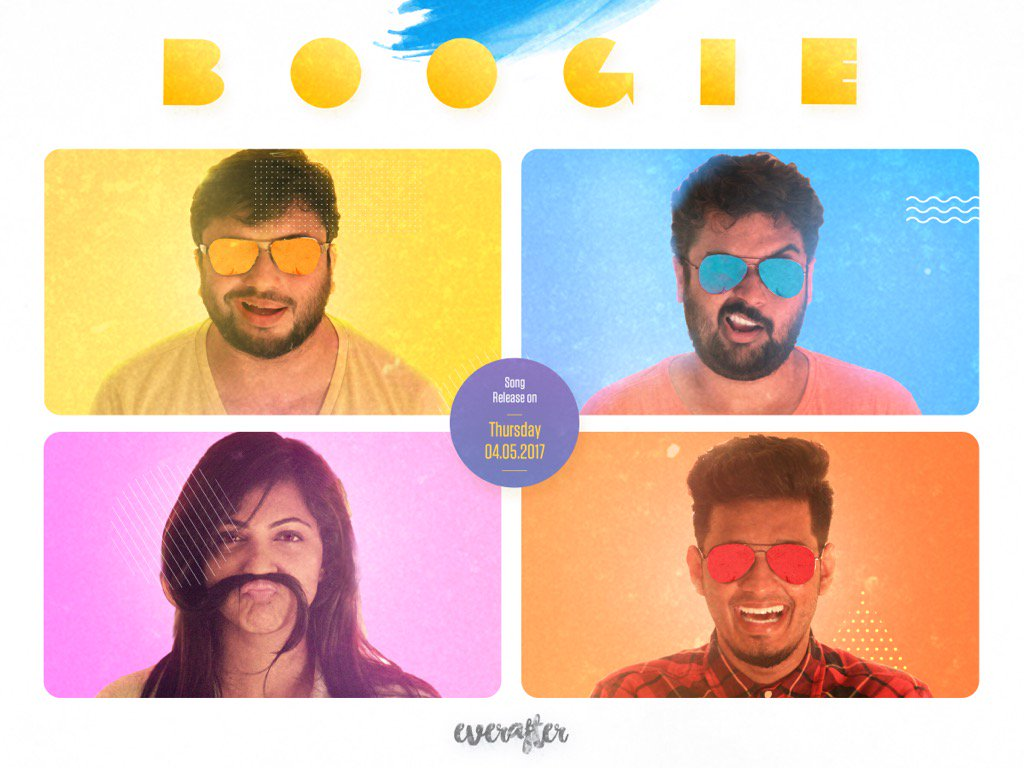 Boogie, our new song video releasing this Thursday. #everafter
