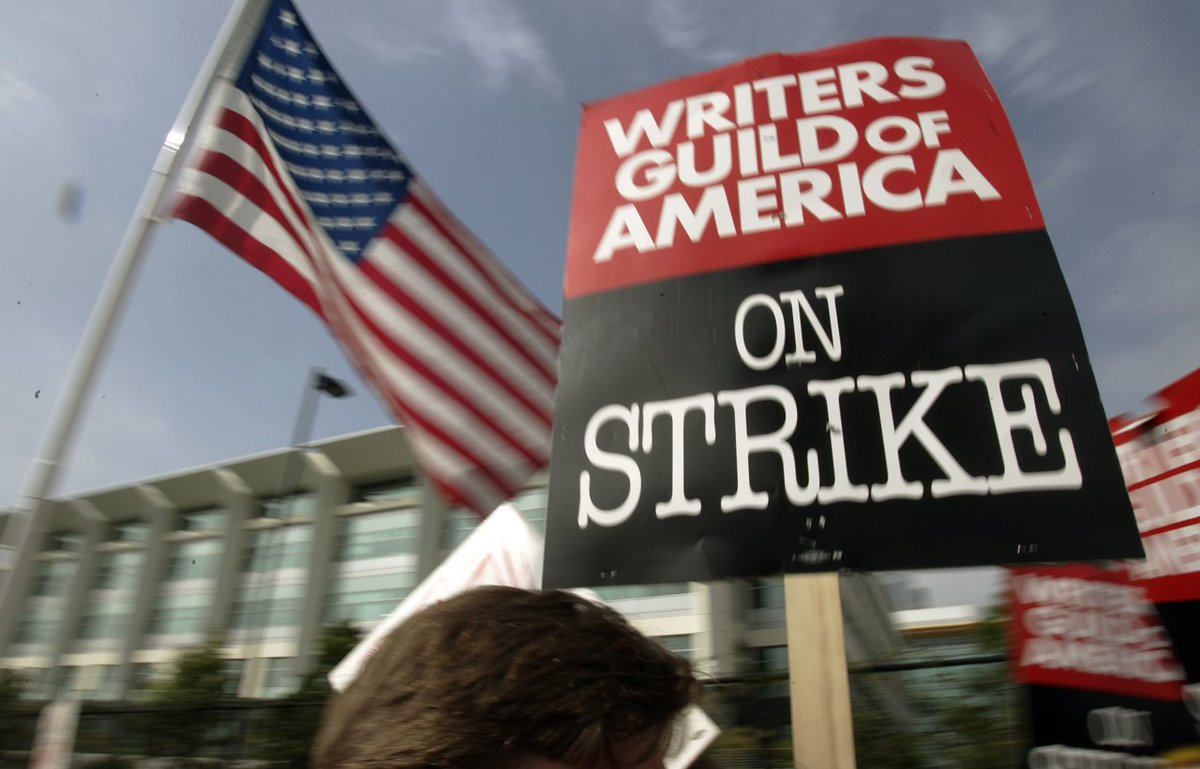 UPDATE: Hollywood writers' guild strikes tentative deal