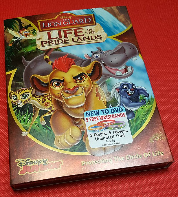 Giveaway – The Lion Guard – Life in the Pride Lands DVD – 3 Winners – Ends 1/19/17