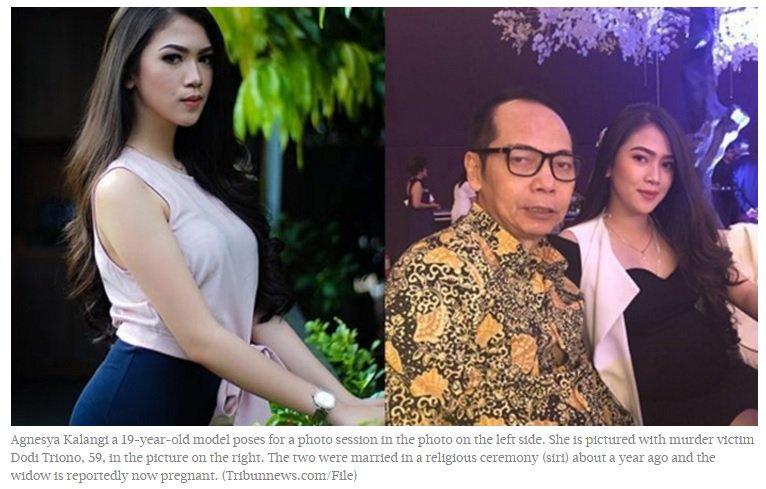 Jakarta toilet murder: Victim Dodi Triono's pregnant widow untouched by crime