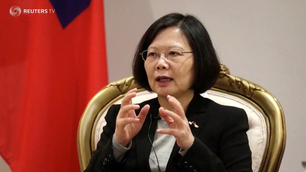China warns U.S. against allowing stopover for Taiwan's Tsai. Read the full story: