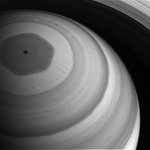 Saturn's north pole basking in light