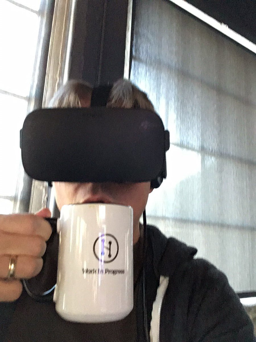 A real risk for VR is how difficult it is to consume either coffee or alcohol while doing it. https://t.co/RlXBn89Sig