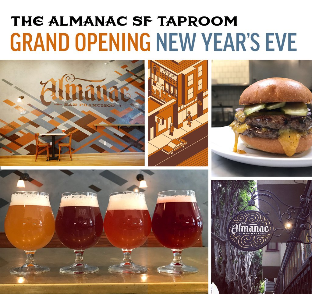 Almanac San Francisco Taproom & Beer Garden - Open this Saturday at 3pm! https://t.co/egtzNA7JGP