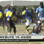 Webuye 10 Aside: Lugulu beat Bungoma to become champtions of 7th edition