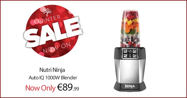 Kick start the post-Christmas health regime with the Nutri Ninja blender! Get yours here; https://t.co/l5LDwIRx4z https://t.co/RX9uFQkRI7