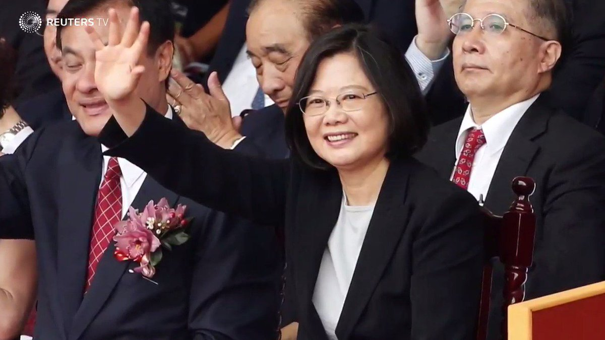 Over China's objections, Taiwan president to visit U.S. - via @ReutersTV