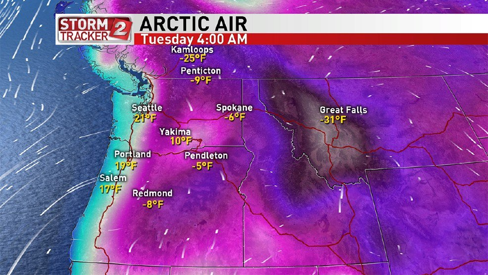 PDX could see coldest start to new year since 1979