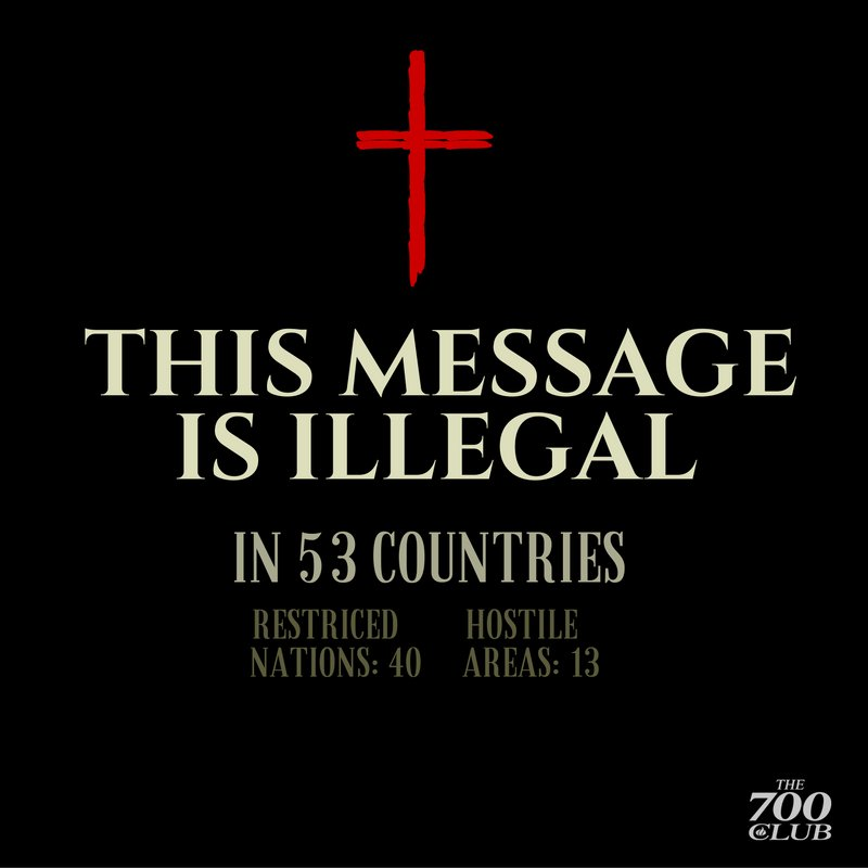 Let us not take for granted that we can actively share the message of Jesus Christ in our country. https://t.co/2Y6xLxe8iD