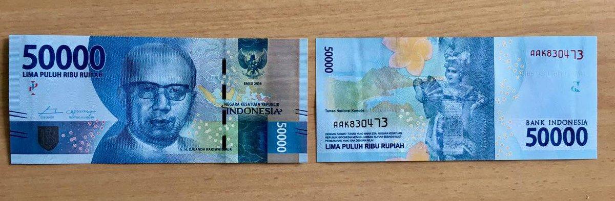 Uang Kertas 50.000 Rupiah - AnekaNews.net