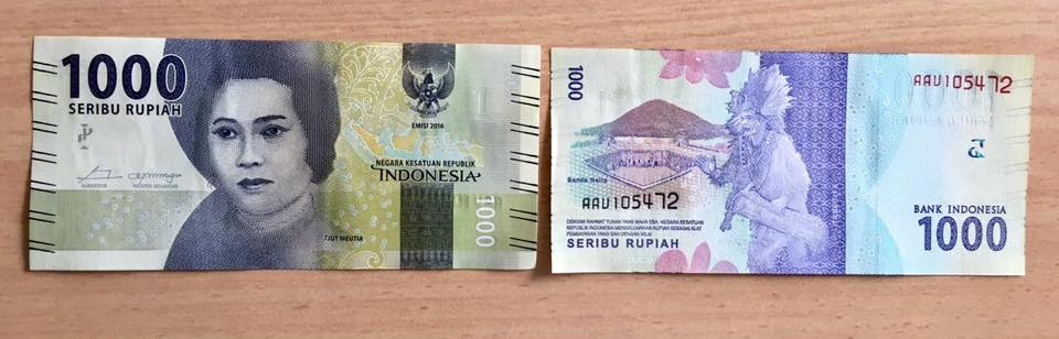 Uang Kertas 1.000 Rupiah - AnekaNews.net