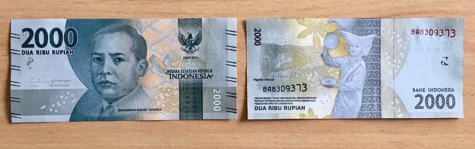 Uang Kertas 2.000 Rupiah - AnekaNews.net