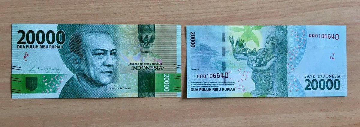 Uang Kertas 20.000 Rupiah - AnekaNews.net
