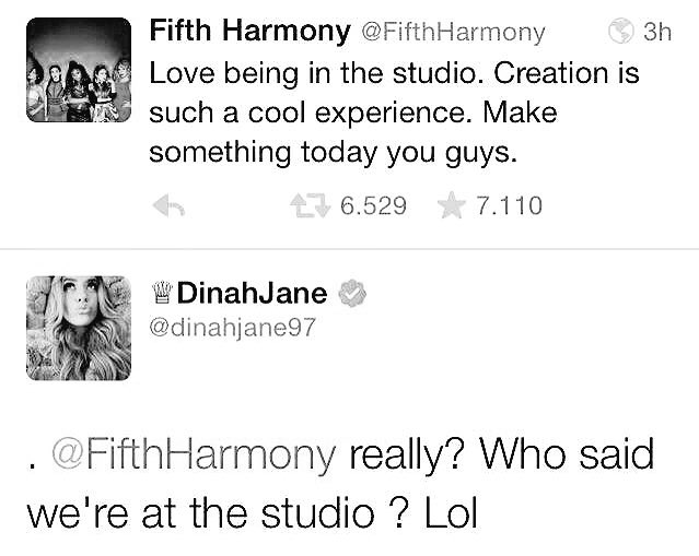 Do you remember when this was tweeted by the group in midst of IKWYDLS hate and Dinah Jane herself was confused? https://t.co/HZKUYvS8pK