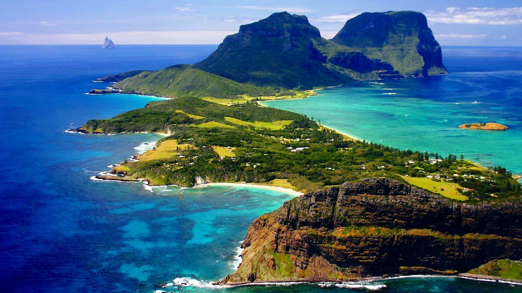 , ocean, landscapes, nature, trees, grass, hills, islands, Australia ... https://t.co/wFLGZso7m7
