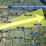 Soggy, icy, and possibly stormy Christmas Day forecast