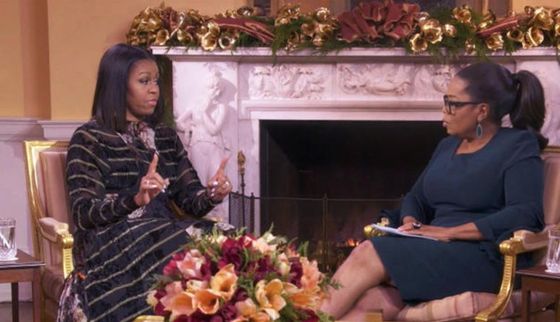 "Michelle Obama explains to Oprah Winfrey why the presidential election ""was painful"" for her"