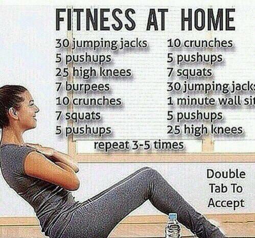 Fitness at home workout https://t.co/9JL74VVZ5P
