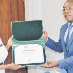 Winner of Sh320m Africa award gets govt support