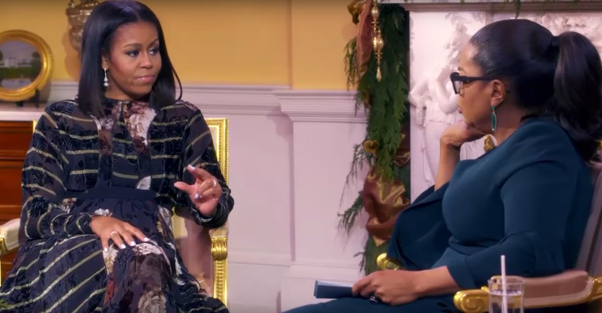 Michelle Obama talked to Oprah about why she doesn't want to run for president