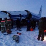 Russian military plane crashes, 39 hurt