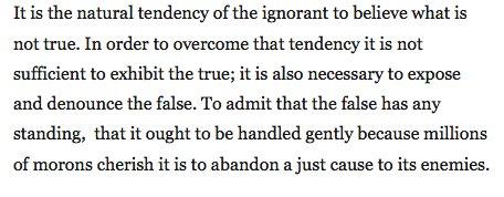 What H.L. Mencken said. https://t.co/fEuUA4A4Ir