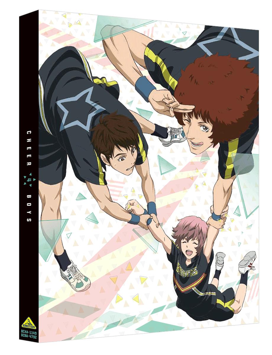 本日フラゲ日!『チア男子!!』BD&DVD第4巻 特典CD収録キャラソン「PRICELESS DAYS 尚史・サク・タケ