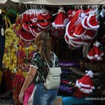 Christmas cheer missing in crisis-hit Rio