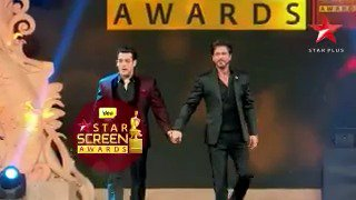 Don't miss @BeingSalmanKhan and @Iamsrk sing along to Mustafa at the #StarScreenAwards this 31st December at 8pm! https://t.co/VKUE4f6hju