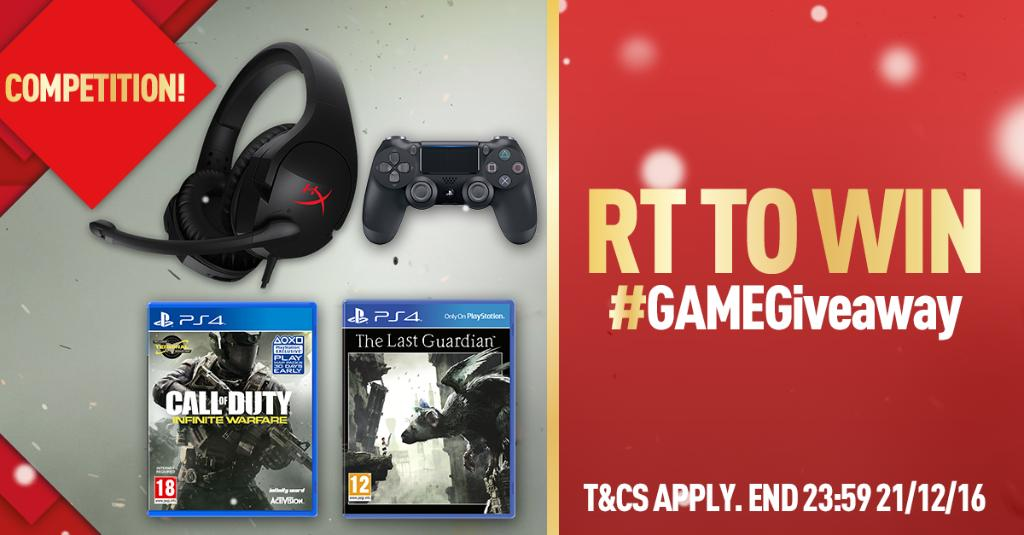 *RT TO WIN* #GAMEGiveaway UNLOCKS! Celebrate a #Christmas For the Players with #PS4. https://t.co/9YYkO5qBHF https://t.co/X4Vd0FrDJl