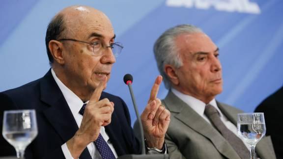 Resultado de imagem para Meirelles não descarta pedir que Temer vete renegociação de dívida dos Estados