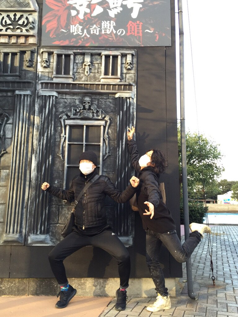 先日、杉田さん達と『影鰐お化け屋敷』を開催中の八景島シーパラダイスに突っ込んだのです。最後に控えるあの人に皆涙目に!園内