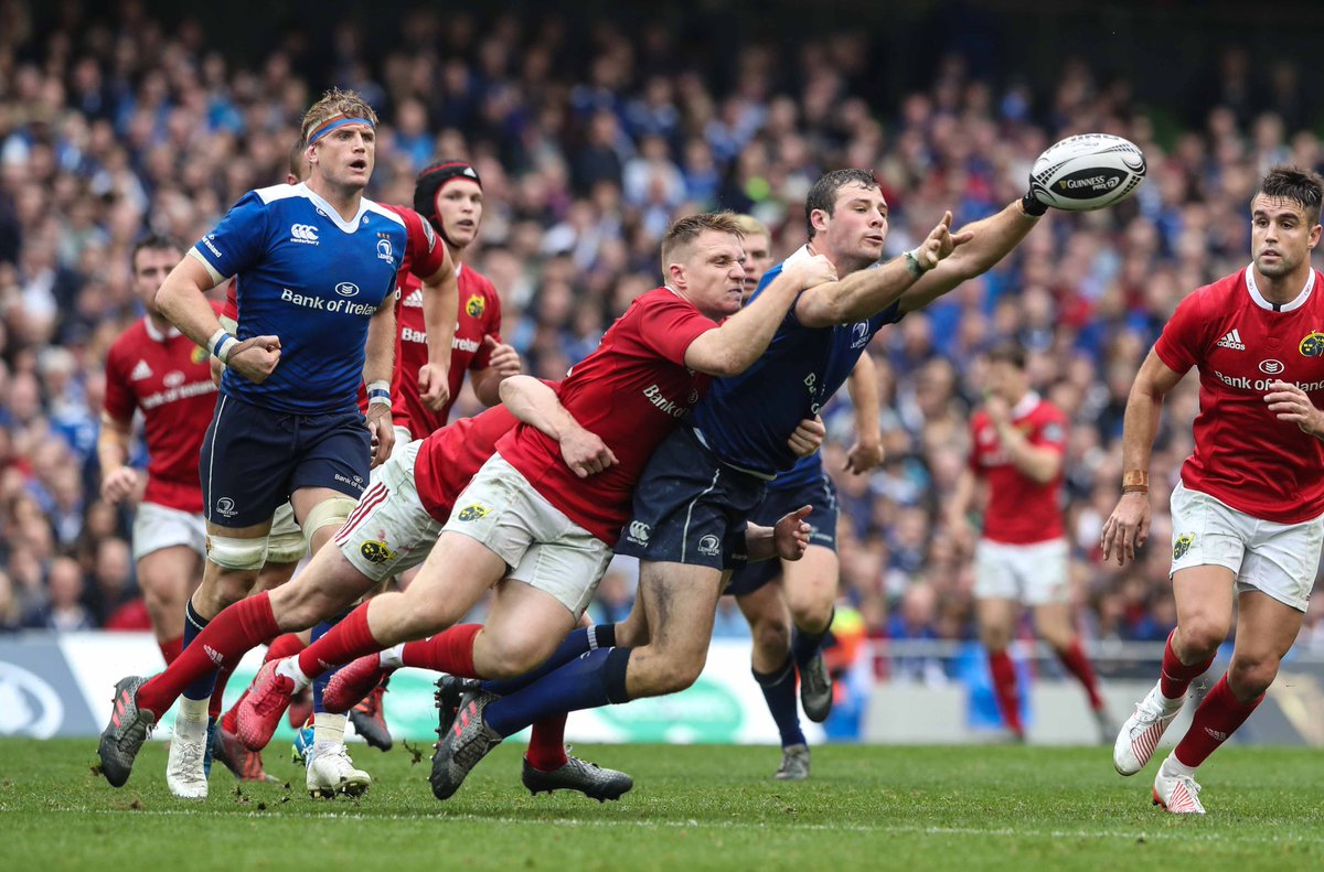 #MUNvLEI is a top of the table clash. Who'll end up on top of the tree? RT for @MunsterRugby FT for @LeinsterRugby https://t.co/KDFHu0vGf0