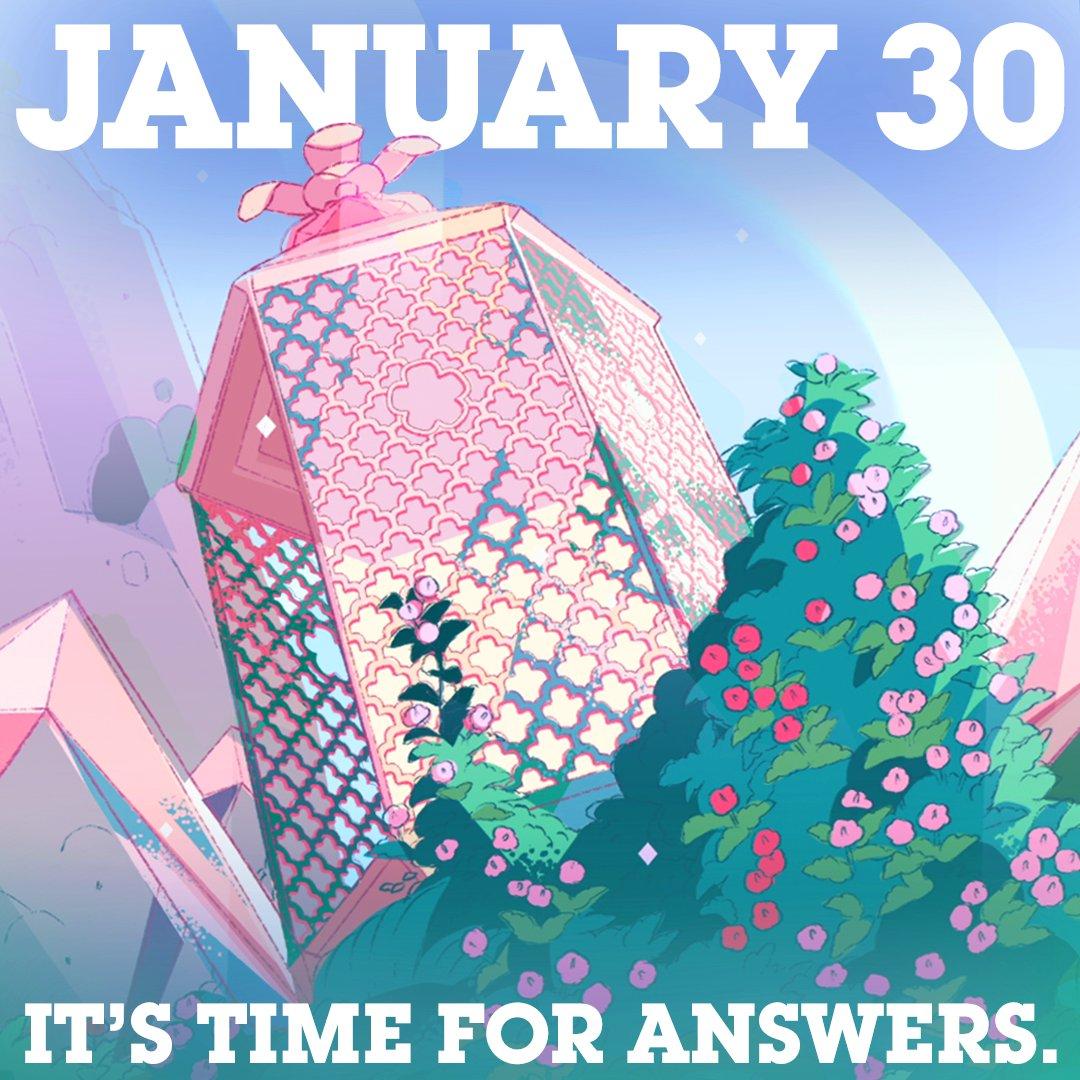 This January, Steven's Universe gets a little bigger. #StevenUniverse https://t.co/11OIhdeQJd